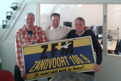 ZFM al meer dan 30 jaar het geluid van Zandvoort